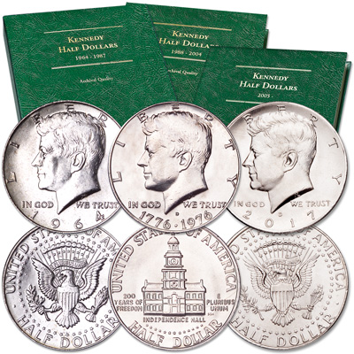 Image for 1964-2017 Kennedy Half Dollar Year Set from Littleton Coin Company