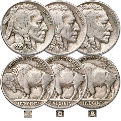 Image for Buffalo Nickel All-Mint Set from Littleton Coin Company