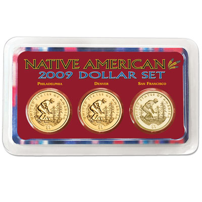 Image for 2009 PDS Native American Dollar Showpak - Reverse from Littleton Coin Company