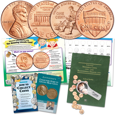 Image for Lincoln Cent Collecting Kit (20 coins) from Littleton Coin Company