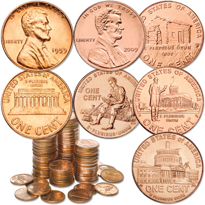 Image for 1959-2009 Lincoln Cent Set from Littleton Coin Company