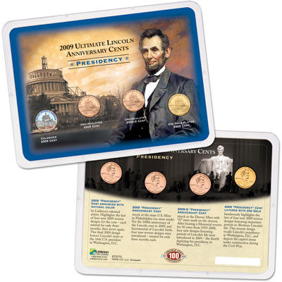 Image for 2009 Ultimate Lincoln Presidency Cent Reverse Showpak from Littleton Coin Company