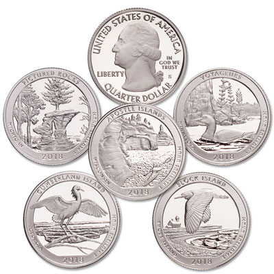 Image for 2018-S Clad America's National Park Quarter Proofs from Littleton Coin Company