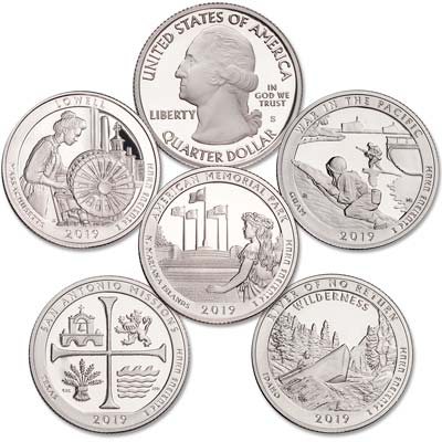 Image for 2019-S Clad America's National Park Quarter Proofs from Littleton Coin Company