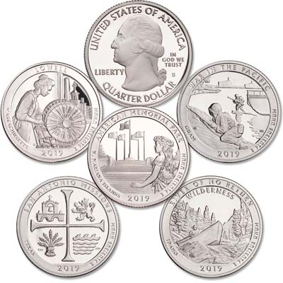 Image for 2019-S 99.9% Silver America's National Park Quarter Proofs from Littleton Coin Company