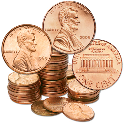 Image for 1969-2008 Consecutive Years of Lincoln Head Cents from Littleton Coin Company