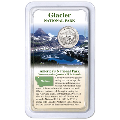 Image for 2011 Glacier National Park Quarter in Showpak from Littleton Coin Company