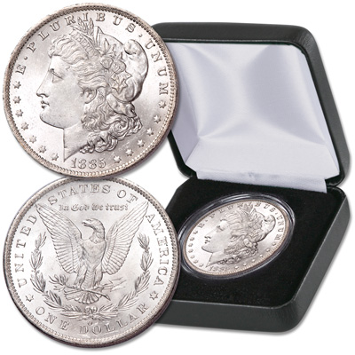 Image for 1885-O Morgan Silver Dollar in Case from Littleton Coin Company