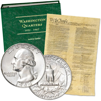Image for 1932-1964 Washington Quarter Collection (15 coins) from Littleton Coin Company