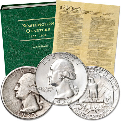 Image for 1932-1964 Washington Quarter Collection from Littleton Coin Company