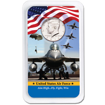 Image for 2016 Kennedy Half Dollar in U.S. Air Force Showpak from Littleton Coin Company