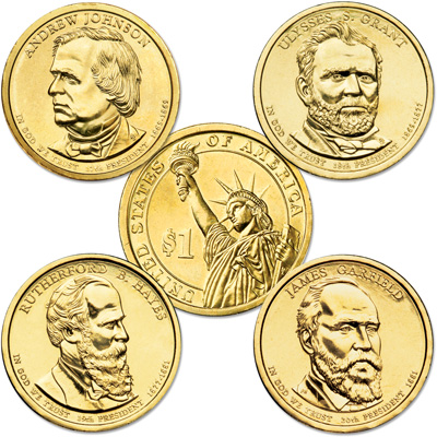 Image for 2011 Presidential Dollar Year Set from Littleton Coin Company