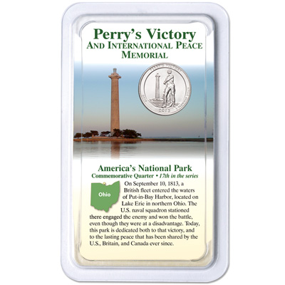 Image for 2013 Perry's Victory & International Peace Memorial Quarter in Showpak from Littleton Coin Company
