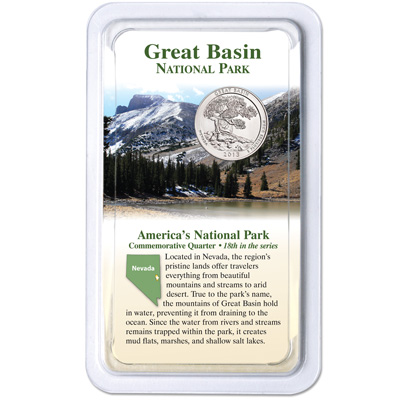 Image for 2013 Great Basin National Park Quarter in Showpak from Littleton Coin Company