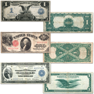 Image for 1899-1918 $1 Large-Size Note Collection from Littleton Coin Company