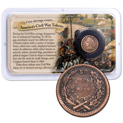 Image for 1862-1864 Civil War Token Showpak from Littleton Coin Company