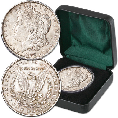 Image for 1889 Morgan Dollar in Presentation Case from Littleton Coin Company