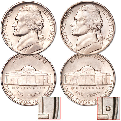 Image for 1938 P&D Jefferson Nickel Set from Littleton Coin Company