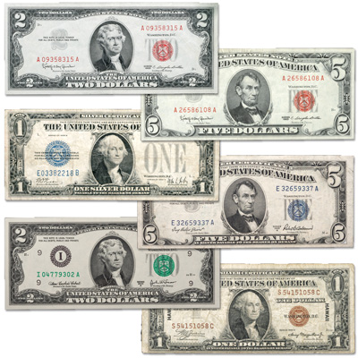 Image for 1928-2003 Small-Size Paper Money Collection (6 notes) from Littleton Coin Company