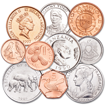 Image for 1948-Date African Coin Set from Littleton Coin Company
