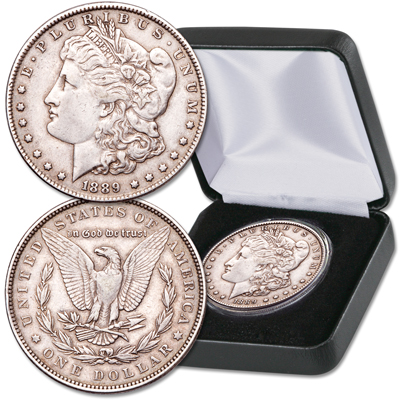 Image for 1878-1921 Morgan Silver Dollar in Case from Littleton Coin Company