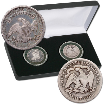 Image for 1807-1891 Capped Bust & Liberty Seated Half Dollar Set from Littleton Coin Company