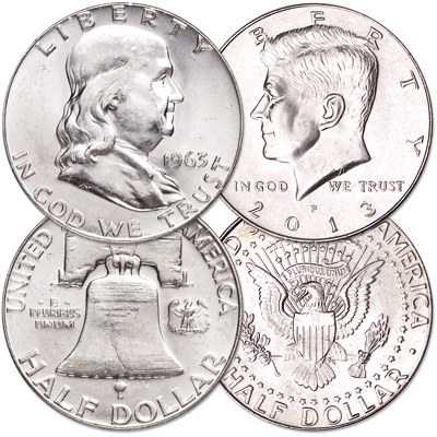 Image for 1963 & 2013 John F. Kennedy Tribute Set (2 coins) from Littleton Coin Company