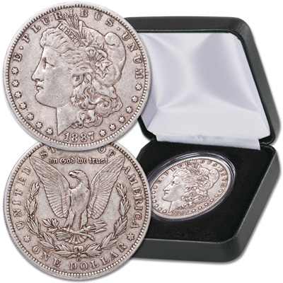 Image for 1887-O Morgan Dollar with Case from Littleton Coin Company