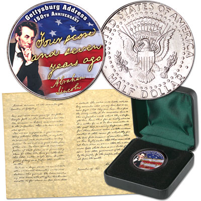 Image for 2013 Gettysburg Address 150th Anniversary Set from Littleton Coin Company