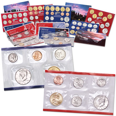 Image for 2005-2010 Satin-Finish Mint Set Collection from Littleton Coin Company