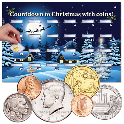 Image for Coin Advent Calendar from Littleton Coin Company