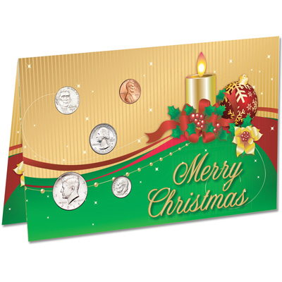 Image for 2016 U.S. Coin Christmas Card from Littleton Coin Company