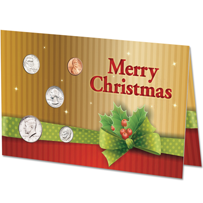 Image for 2017 U.S. Coin Christmas Card from Littleton Coin Company