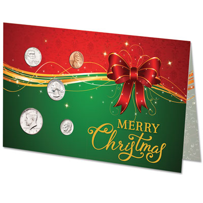 Image for 2018 U.S. Coin Christmas Card from Littleton Coin Company