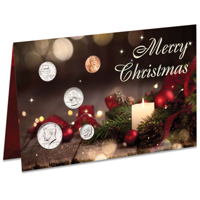 Image for 2019 U.S. Coin Christmas Card from Littleton Coin Company