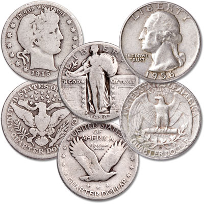 Image for 20th Century Silver Quarter Set from Littleton Coin Company