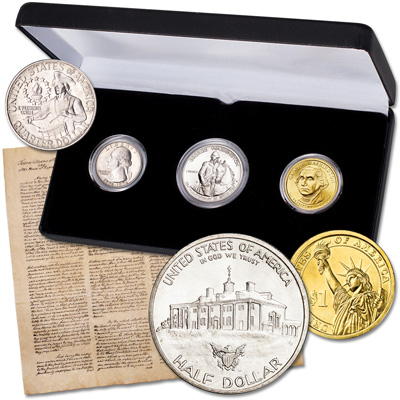 Image for George Washington's Inauguration Set from Littleton Coin Company