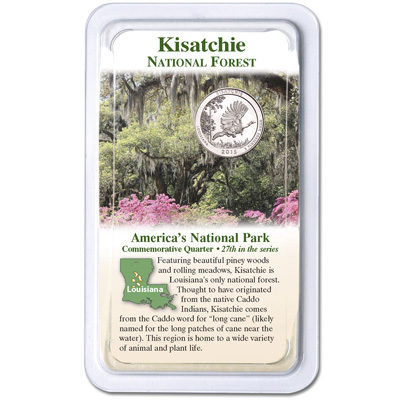 Image for 2015 Kisatchie National Forest Quarter in Showpak from Littleton Coin Company