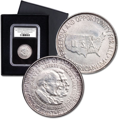 Image for 1951-1954 Carver-Washington Silver Commemorative Half Dollar from Littleton Coin Company
