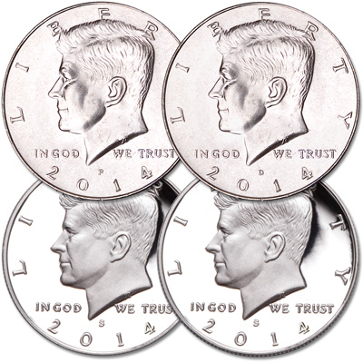 Image for 2014 PDSS Kennedy Half Dollar Set from Littleton Coin Company