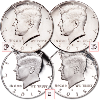 Image for 2015 PDSS Kennedy Half Dollar Set from Littleton Coin Company