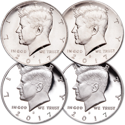 Image for 2017 PDSS Kennedy Half Dollar Set from Littleton Coin Company