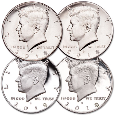 Image for 2018 PDSS Kennedy Half Dollar Set from Littleton Coin Company