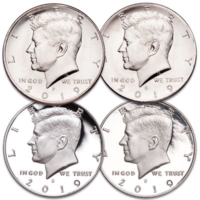 Image for 2019 PDSS Kennedy Half Dollar Set from Littleton Coin Company