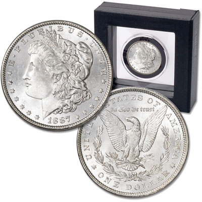Image for 1887 Morgan Dollar in Nimbus Frame from Littleton Coin Company