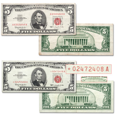 Image for Series 1963 $5 Legal Tender Note Set from Littleton Coin Company
