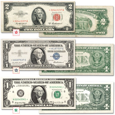 Image for 1953-1977 Star Notes Set from Littleton Coin Company