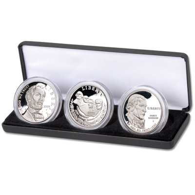 Image for 1991-2009 Commemorative Silver Dollar Set from Littleton Coin Company