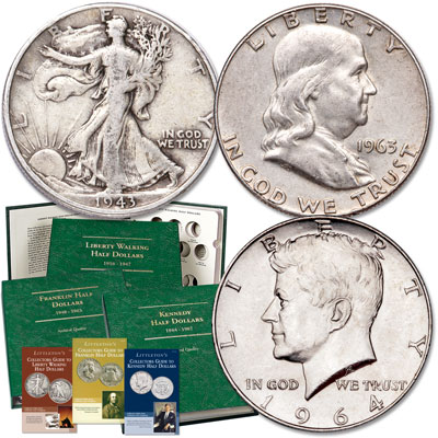 Image for End-of-Era Silver Half Dollar Set with Club Enrollment from Littleton Coin Company