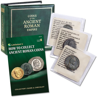 Image for Coins of the Ancient Roman Empire Album from Littleton Coin Company